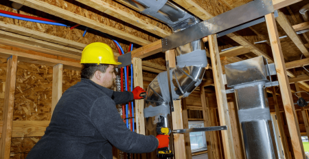 home heating and cooling in USA